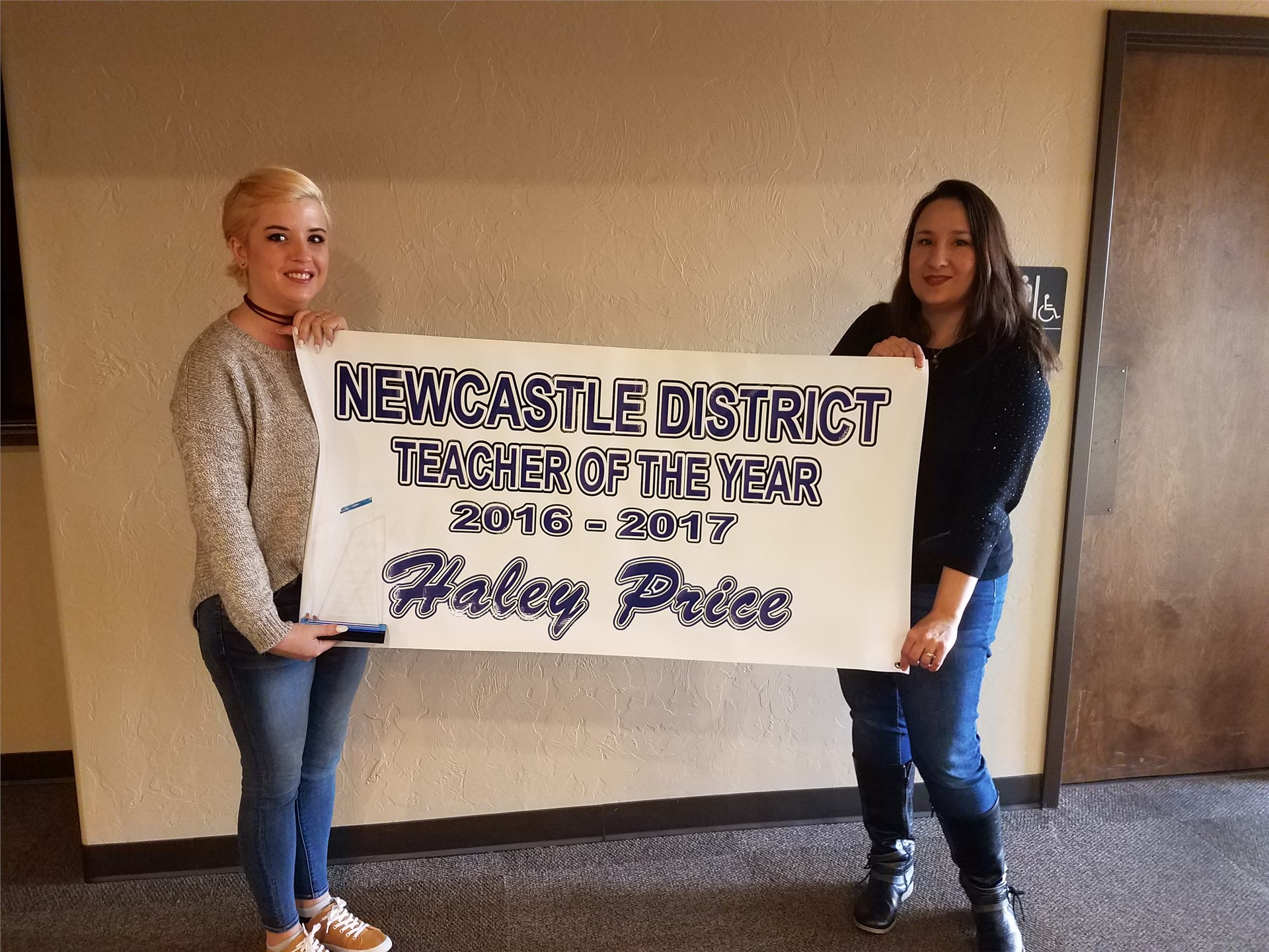 Haley Price Teacher of the Year